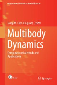 New book Multibody Dynamics- Biomechanical Engineering Lab - UPC